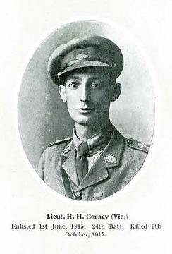 Lieutenant Hubert Hume Corney