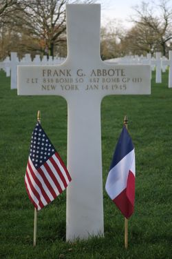 2Lt Frank G Abbote