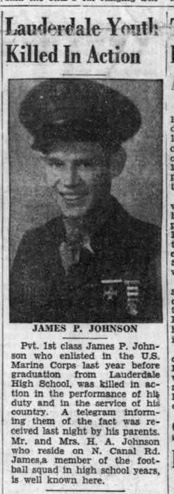 PFC James Peyton Johnson