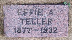 Effie Ada <I>Butler</I> Teller