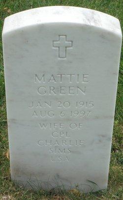 Mattie Green Sims