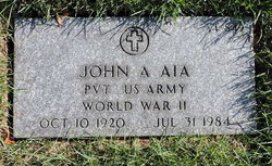 John A Aia