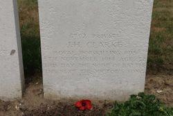 Pvt James Herbert Clarke