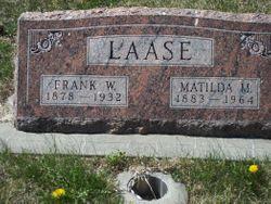 Frank W Laase