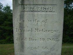"""Elizabeth """"Betsey"""" <I>Grout</I> McGregor"""