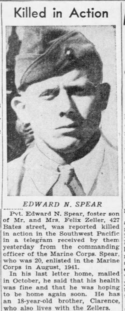 PFC Edward Marion Spear