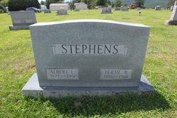Rev Albert Leslie Stephens