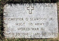 Chester G Slawson, Jr