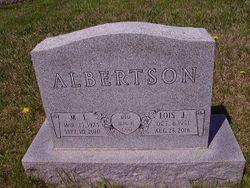 Lois June <I>Lewellym</I> Albertson