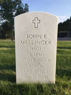 John E Mellinger