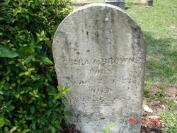 Clara Ann <I>Riggins</I> Brown