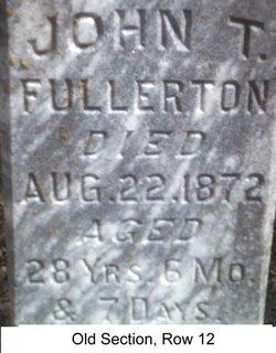 John T Fullerton