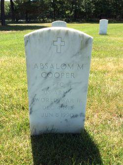 Absalom M Cooper