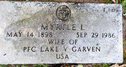 Myrtle L <I>Robertson</I> Garven