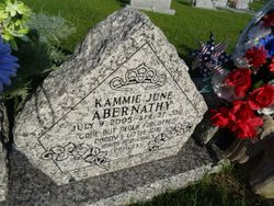 Kammie June Abernathy 2005 2011 Find A Grave Memorial
