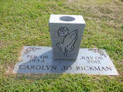 Carolyn Jo <I>Russell</I> Rickman