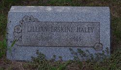 Lillian Louise <I>Hayley</I> Erskine