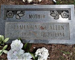 Clementine <I>Ragland</I> Allen