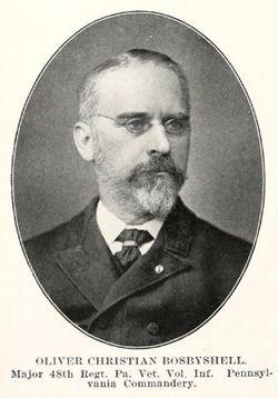 Maj Oliver Christian Bosbyshell