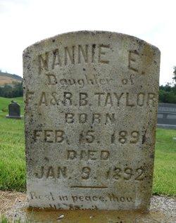 Nannie E. Taylor