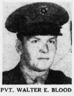 Pvt Walter Edward Blood
