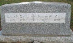 Jessie M. <I>Parsons</I> Zang