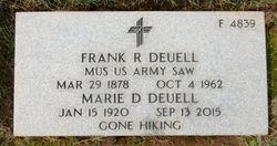 Frank R Deuell