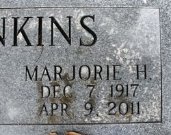 "Marjorie Marie ""Marge"" <I>Hummell</I> Jenkins"