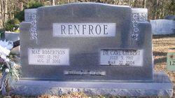 Mae <I>Robertson</I> Renfroe