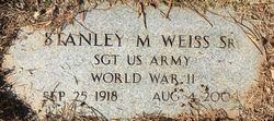Stanley M Weiss, Sr