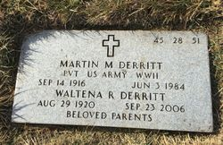 Martin M Derritt