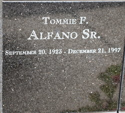 Tommie Frank Alfano, Sr