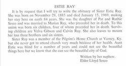 Esty <I>Sesco</I> Ray