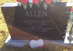 "Constance R. ""Connie"" <I>Borden</I> Allen"