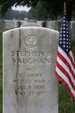 Stephen B Vaughan