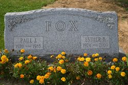 Esther B <I>Buckwalter</I> Fox