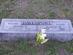 Marion W Davenport
