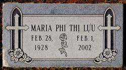 Maria <I>Phi Thi</I> Luu