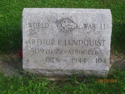 PFC Arthur E Lundquist