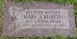 Mary J. <I>Czubakowski</I> Kureth