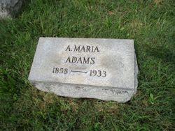 Anna Maria <I>Dreibelbis</I> Adams