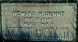 Howard H Dennis