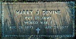 Harry J Devine