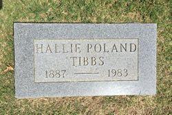 Hallie <I>Poland</I> Tibbs
