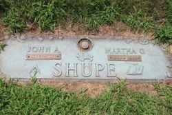 Martha G. <I>Carpenter</I> Shupe