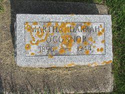 Martha Esther <I>Darrah</I> O'Connor