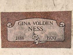 Gina <I>Volden</I> Ness