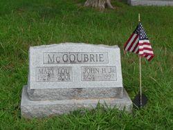 John H McCoubrie, Jr