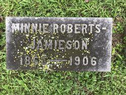 "Mary ""Minnie"" <I>Roberts</I> Jamieson"