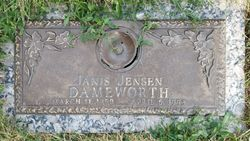 Janis <I>Jensen</I> Dameworth